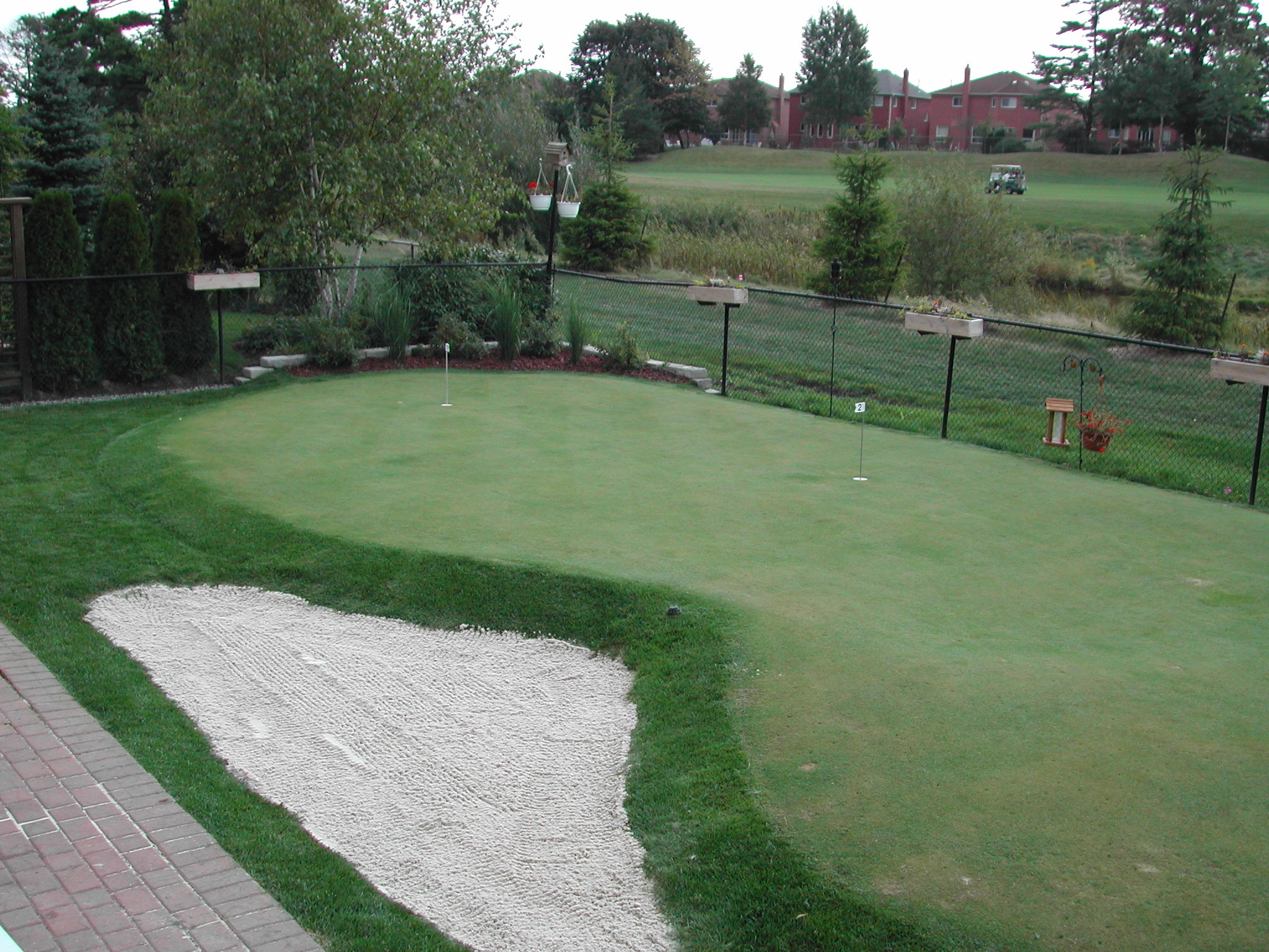 Best ideas about Backyard Putting Green . Save or Pin Putting Greens Backyard Golf Green s Now.