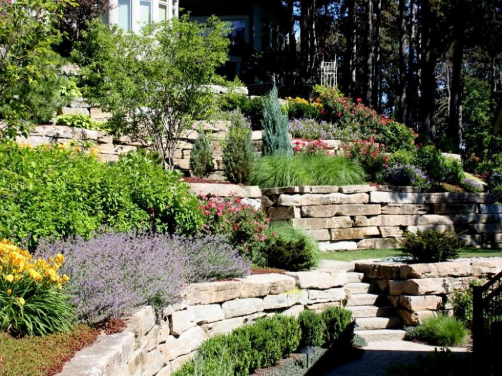 The top 20 Ideas About Backyard Slope Landscaping Ideas ...
