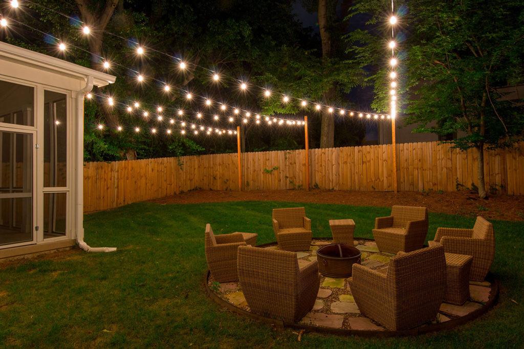 Best ideas about Backyard String Lights . Save or Pin Custom String Lights Light Up Nashville Now.