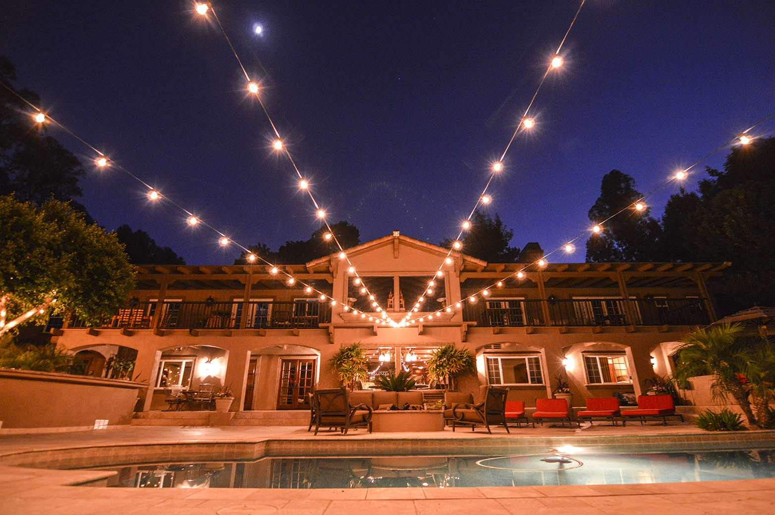Best ideas about Backyard String Lights . Save or Pin mercial Outdoor String Lights Now.
