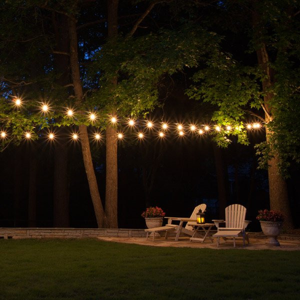 Best ideas about Backyard String Lights . Save or Pin Patio String Lights Yard Envy Now.