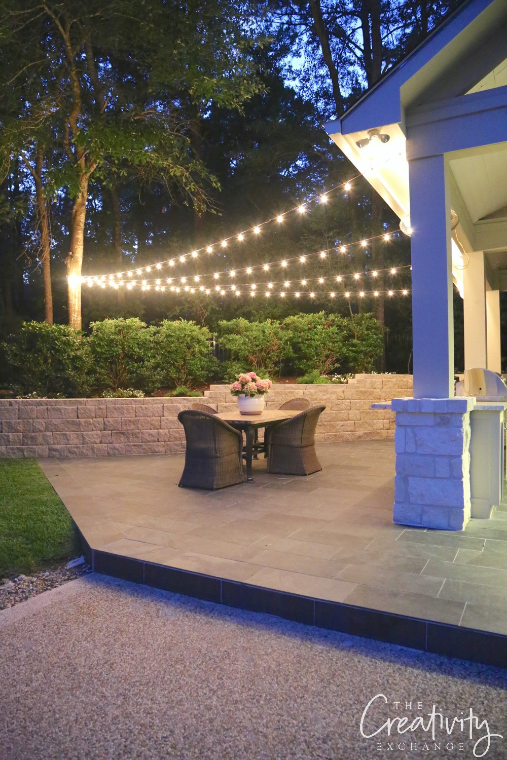Best ideas about Backyard String Lights . Save or Pin Quick Tips for Hanging Outdoor String Lights Now.