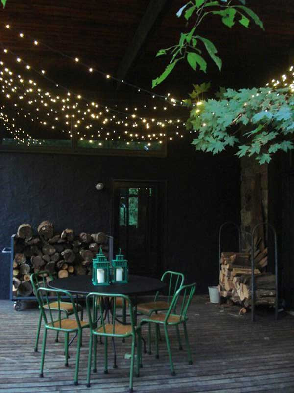 Best ideas about Backyard String Lights . Save or Pin 26 Breathtaking Yard and Patio String lighting Ideas Will Now.
