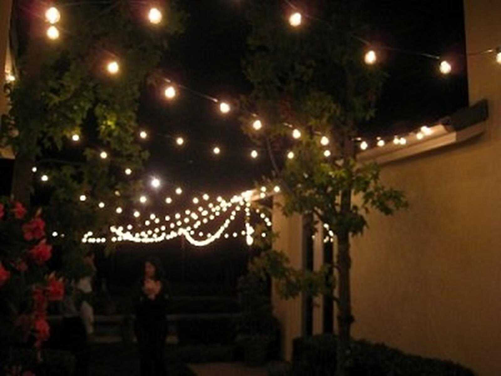 Best ideas about Backyard String Lights . Save or Pin String Lights Patio Lighting Backyard Outdoor Indoor 7 Now.