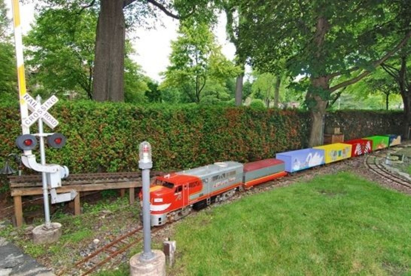 Best ideas about Backyard Trains For Sale . Save or Pin Oh Deer A Fearfully Charming Stone Cottage For Sale Now.