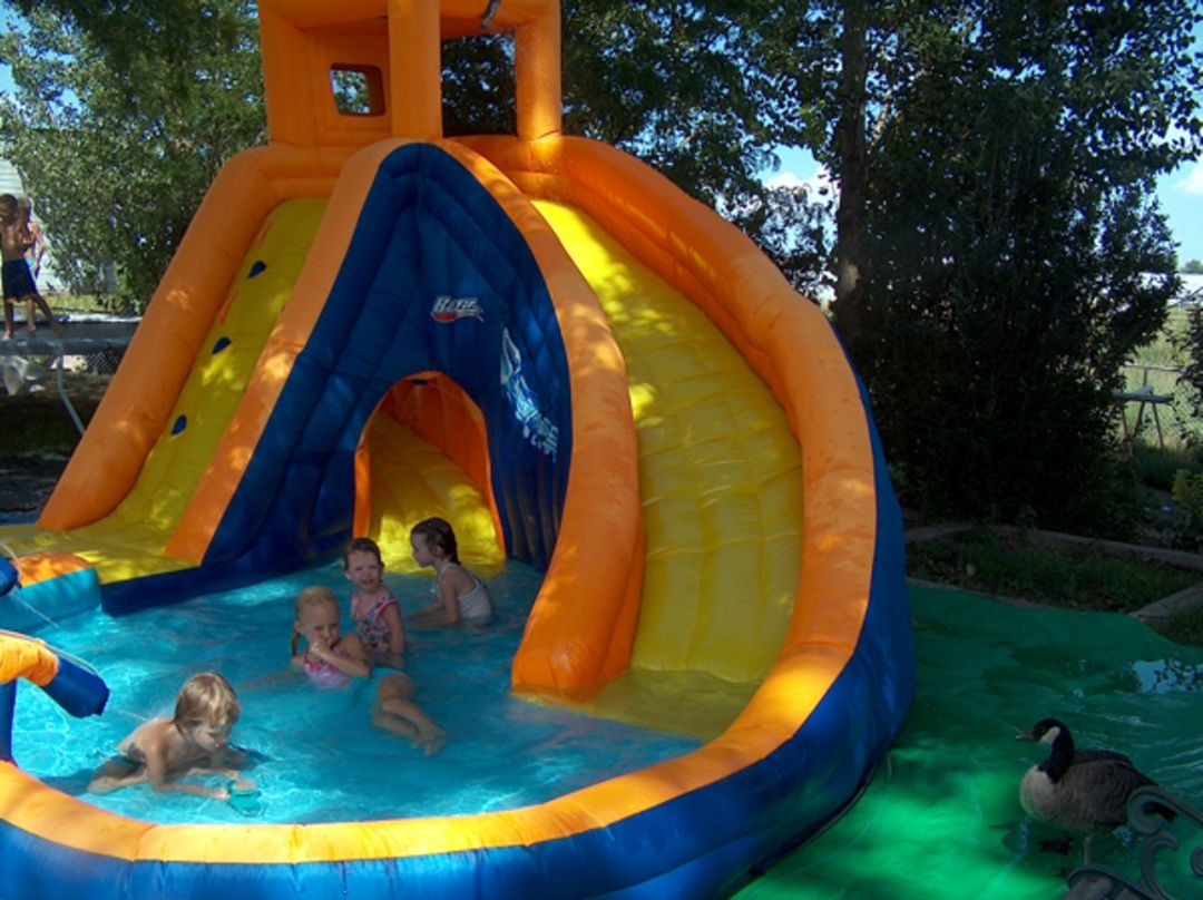 Best ideas about Backyard Water Toy . Save or Pin Fun backyard water toys Now.