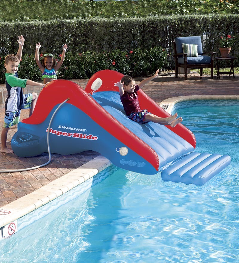 Best ideas about Backyard Water Toy . Save or Pin Backyard water slides toys r us Now.