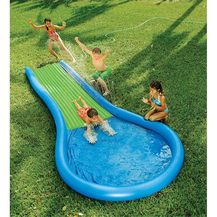 Best ideas about Backyard Water Toy . Save or Pin 30 best Water Fun Out In The Sun images on Pinterest Now.