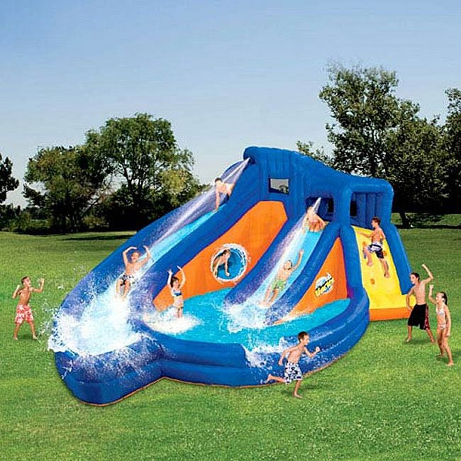 Best ideas about Backyard Water Toy . Save or Pin Banzai Pipeline Water Twist Aqua Park Free Shipping Now.