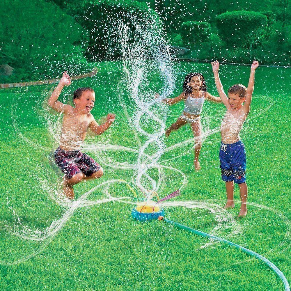 Best ideas about Backyard Water Toy . Save or Pin NEW Banzai Geyser Blast Sprinkler Kids Water Fun Summer Now.