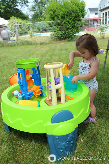Best ideas about Backyard Water Toy . Save or Pin 8 Backyard Must Haves for Toddlers Now.