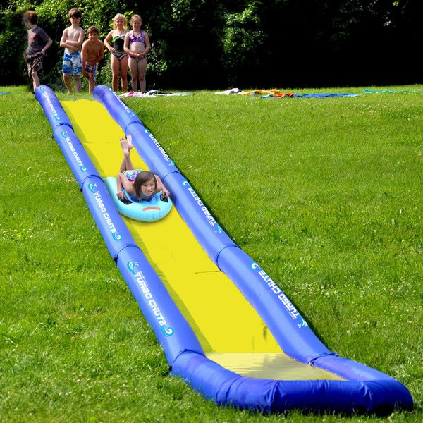 Best ideas about Backyard Water Toy . Save or Pin Shop RAVE Sporst Turbo Chute Backyard Water Slide Package Now.