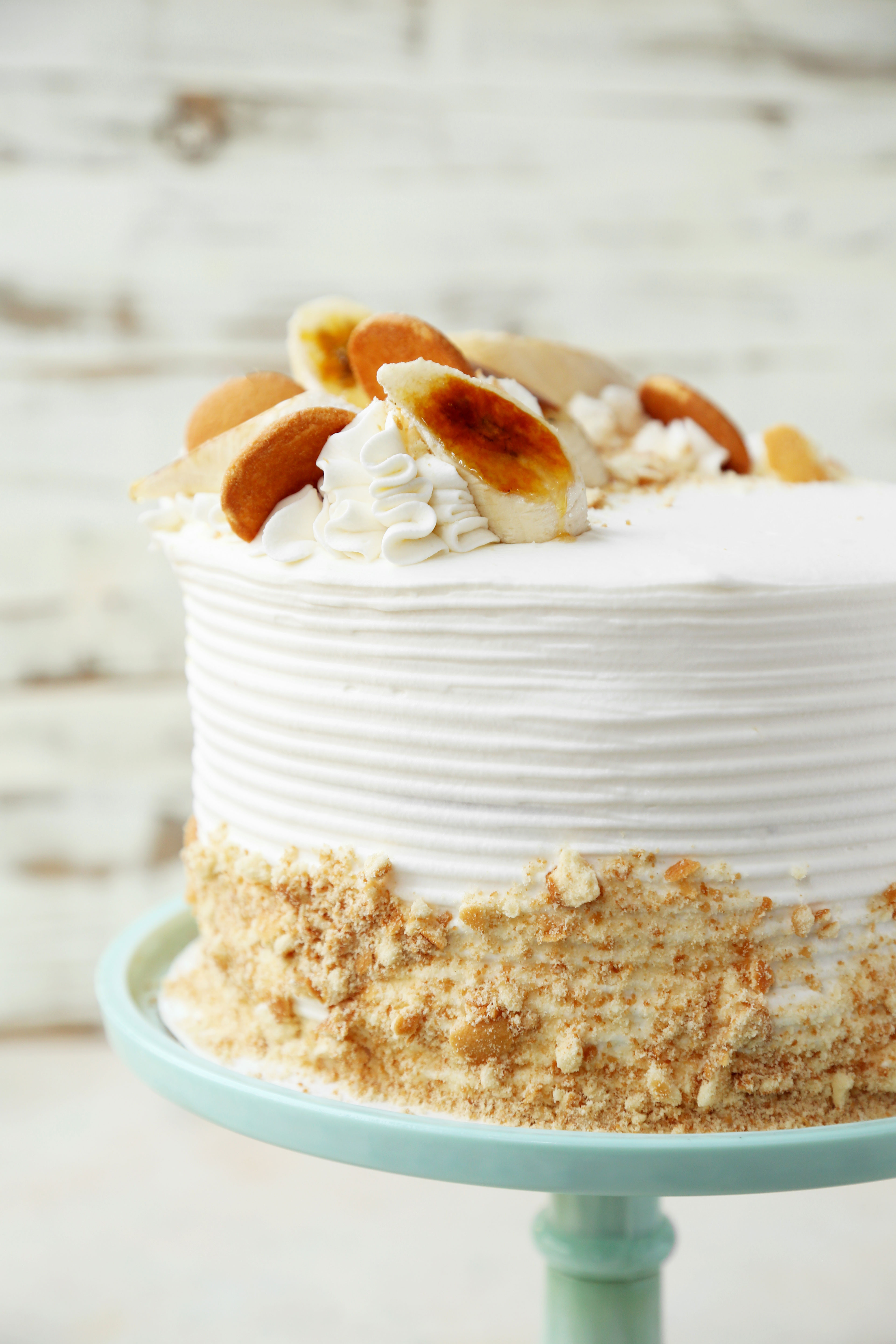 Best ideas about Banana Birthday Cake . Save or Pin Banana Pudding Cake The Candid Appetite Now.