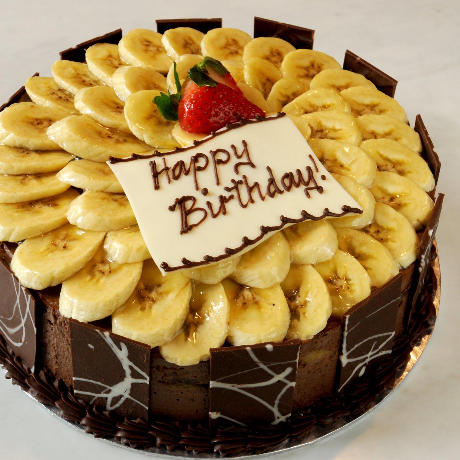Best ideas about Banana Birthday Cake . Save or Pin Sweet Indulgence Kuching Chocobana Birthday Cake Now.