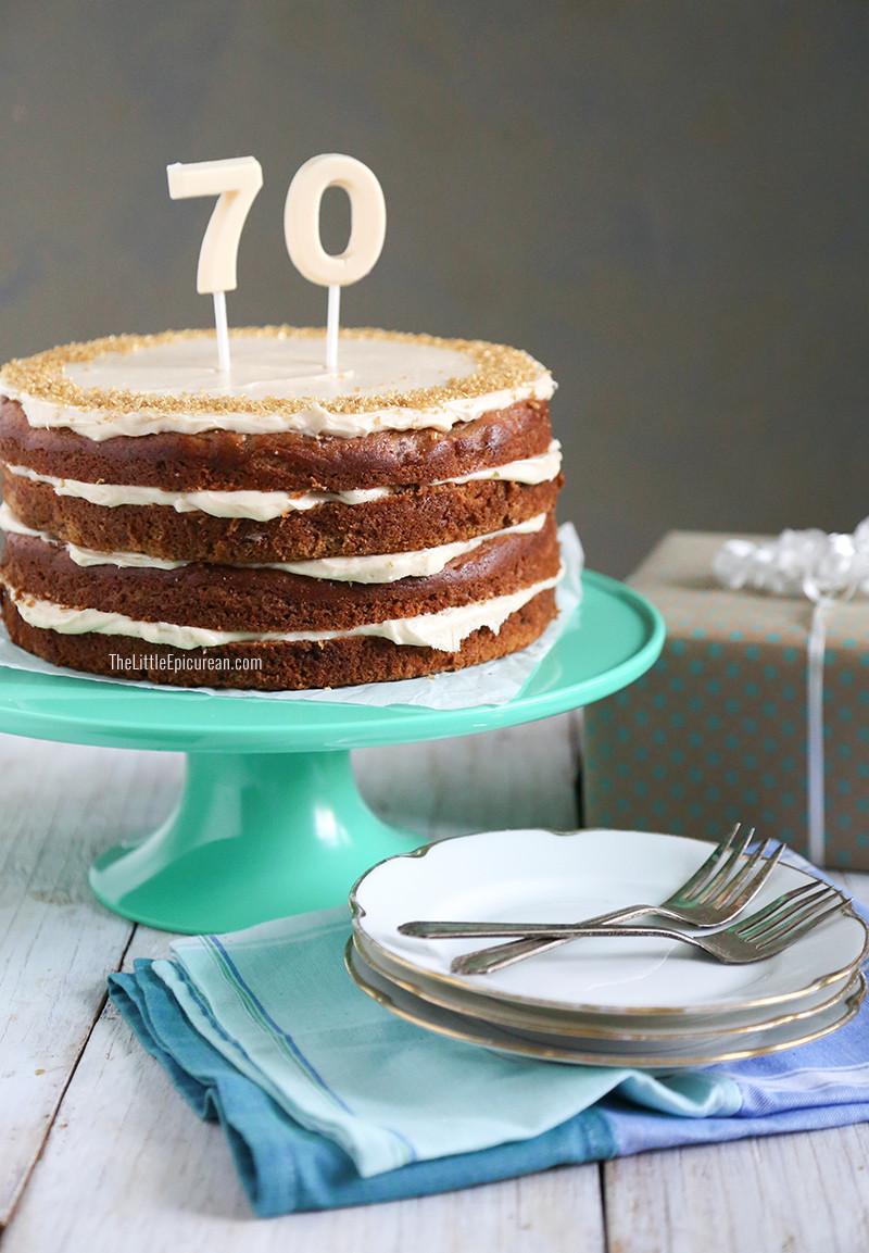 Best ideas about Banana Birthday Cake . Save or Pin Walnut Banana Rum Cake Now.
