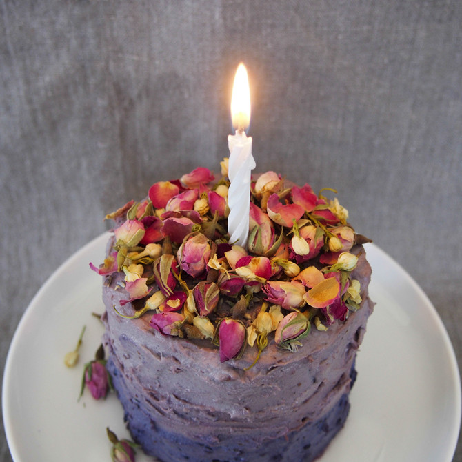 Best ideas about Banana Birthday Cake . Save or Pin Secret Squirrel Food – Banana Birthday Cake & Blueberry Now.