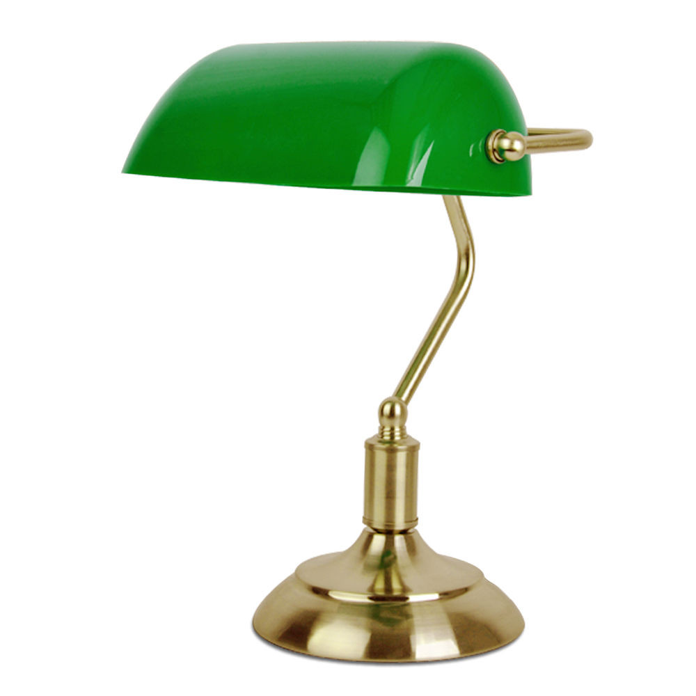 Best ideas about Bankers Desk Lamp . Save or Pin Traditional Bankers Table Desk Lamp in Antique Brass Now.