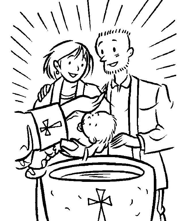 Baptism Coloring Pages For Kids  53 best images about Sacraments of Initiation Unit D8 4