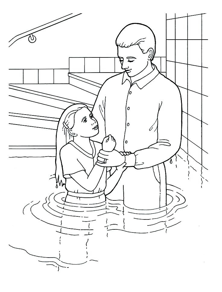 Baptism Coloring Pages For Kids  Baptism Coloring Pages Coloring Home