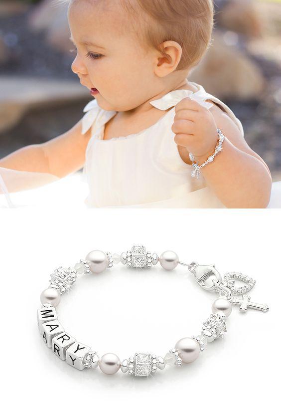 Baptism Gift Ideas For Baby Girl  Crowned in Heaven Christening Baptism Baby Children s
