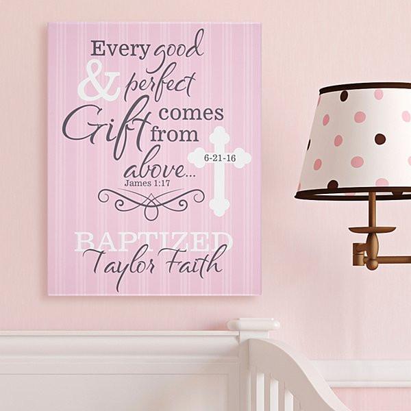 Baptism Gift Ideas For Baby Girl  Christening Baptism Gifts For Baby Girls Gifts