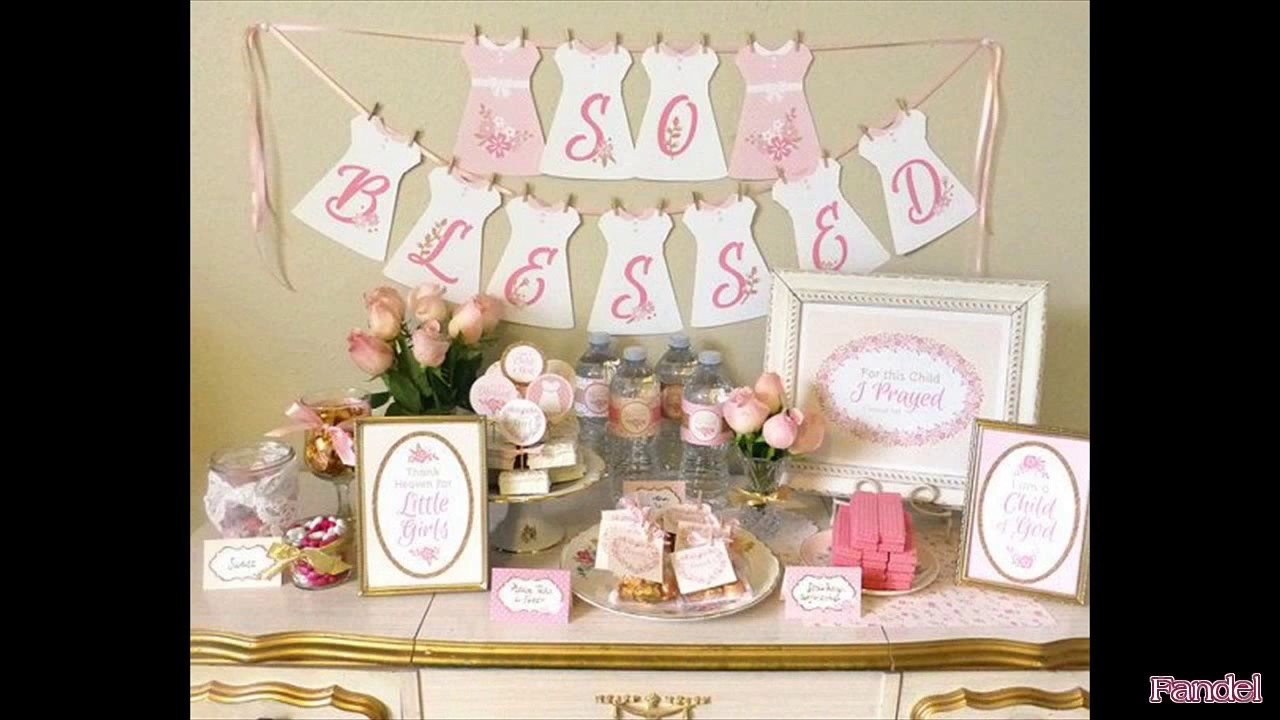 Baptism Gift Ideas For Girls  Baptism Party Ideas for a Girl