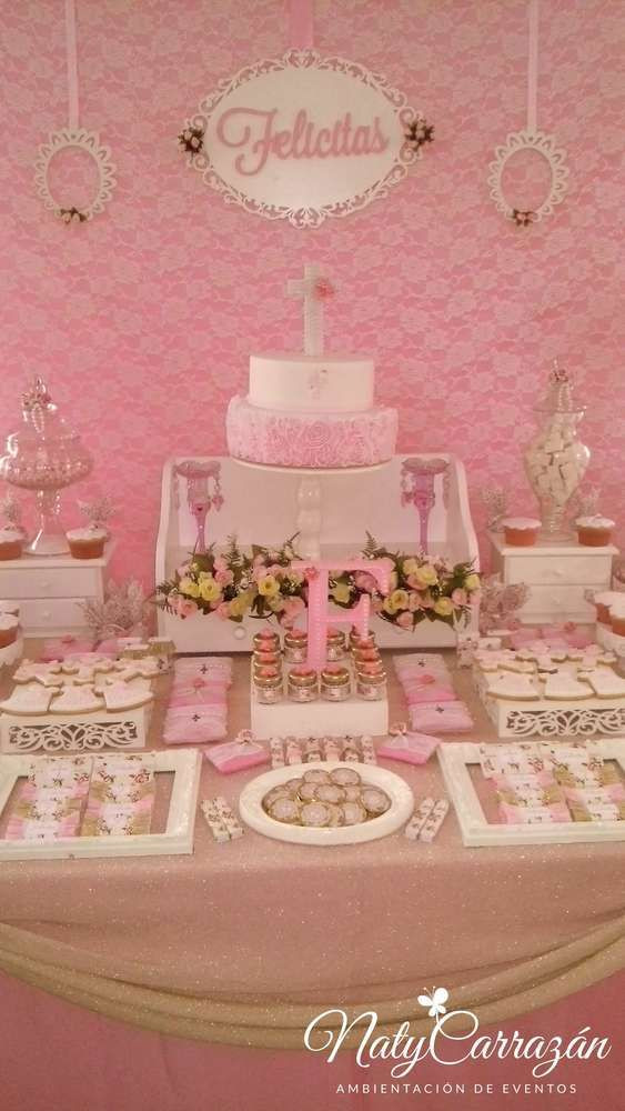 Baptism Gift Ideas For Girls  Baptism girl Baptism Party Ideas