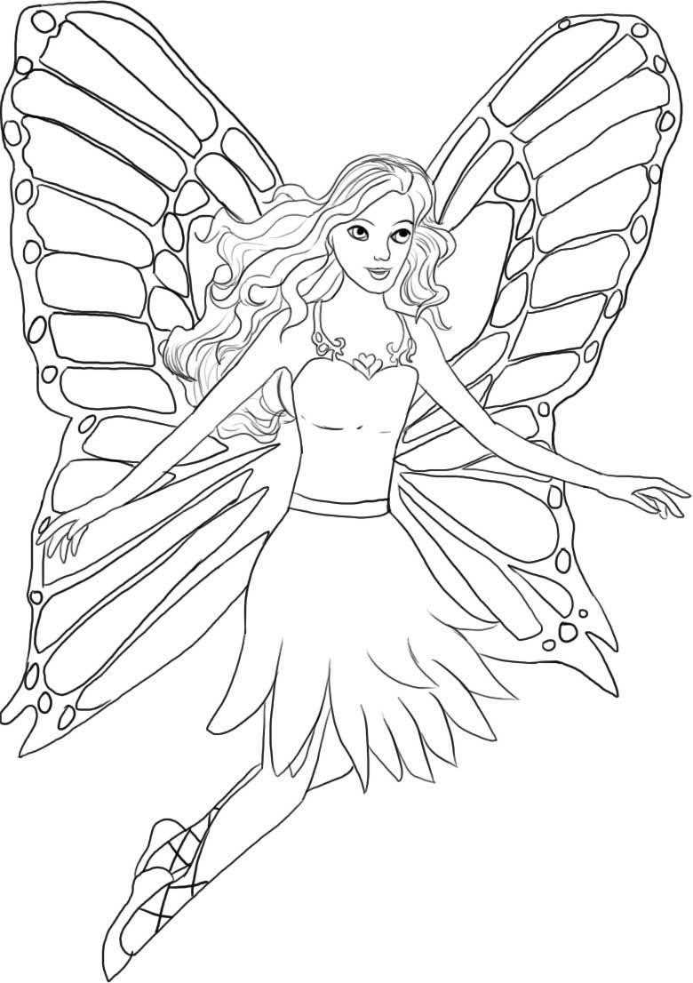 Best ideas about Barbie Coloring Sheets For Girls Printable . Save or Pin Barbie Coloring Pages Now.