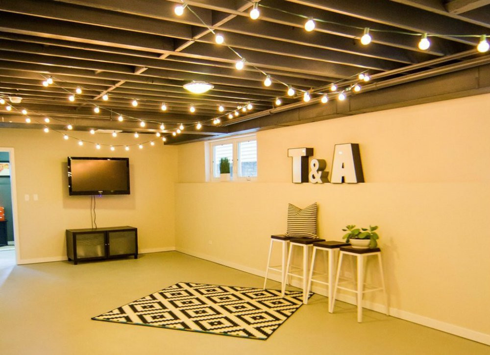 Best ideas about Basement Ideas Cheap . Save or Pin Unfinished Basement Ideas 9 Affordable Tips Bob Vila Now.