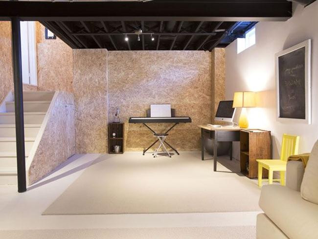Best ideas about Basement Ideas Cheap . Save or Pin Basement Ideas A Bud Cheap Basement Flooring Ideas Now.