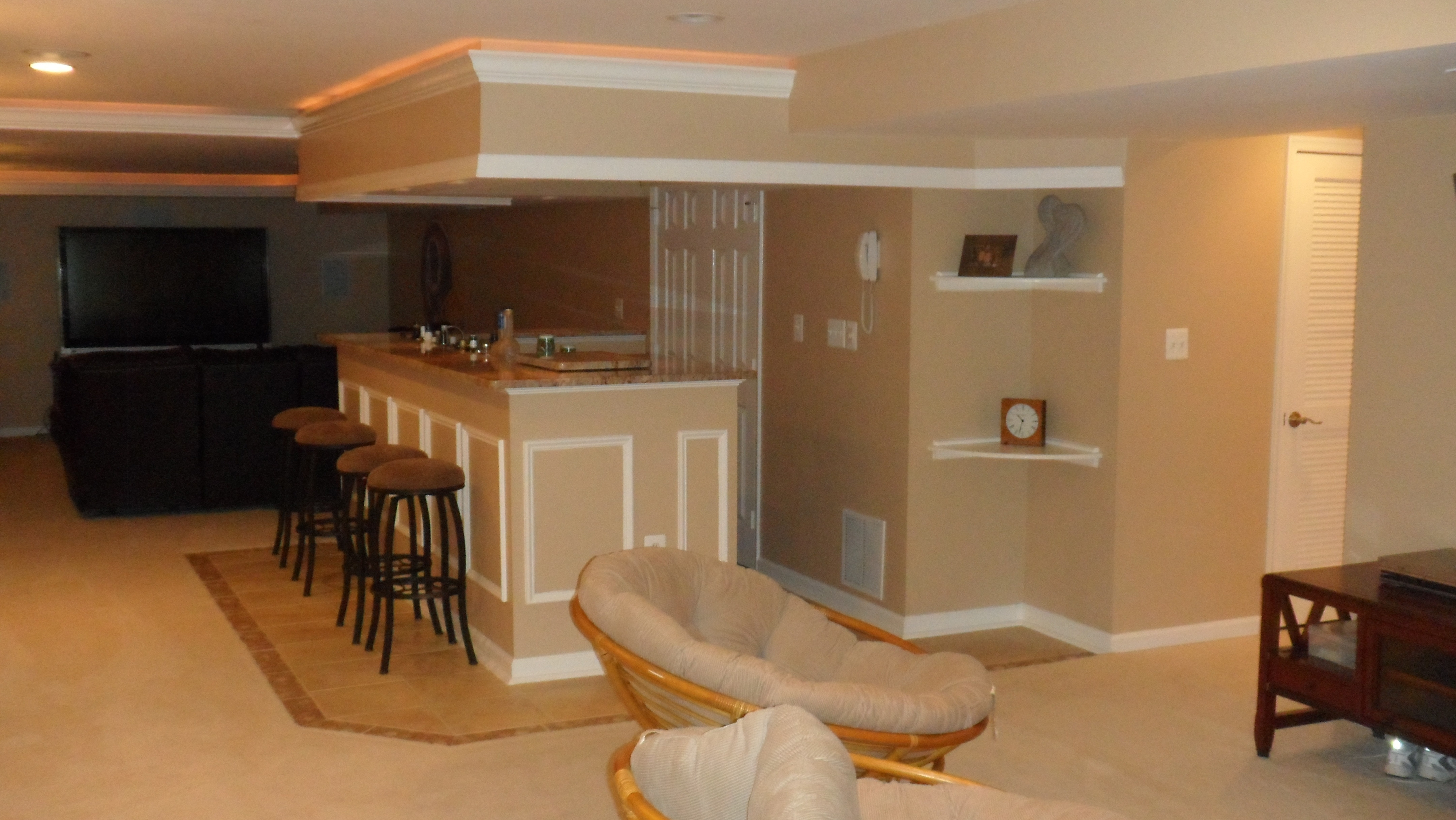 Best ideas about Basement Ideas Cheap . Save or Pin Decorate A Small Basement Bar Ideas — Cookwithalocal Home Now.