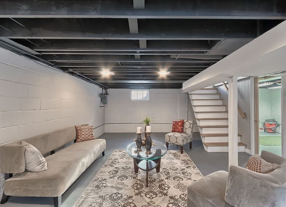 Best ideas about Basement Ideas Diy . Save or Pin 11 Doable Ways to DIY a Basement Ceiling Now.