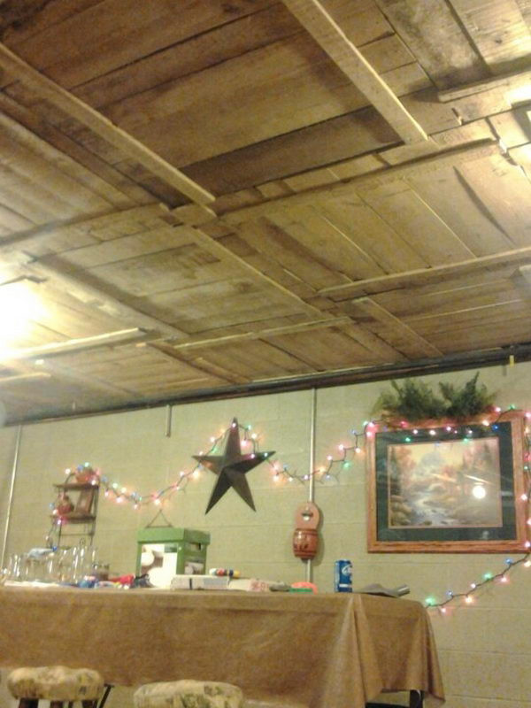 Best ideas about Basement Ideas Diy . Save or Pin 20 Cool Basement Ceiling Ideas Hative Now.