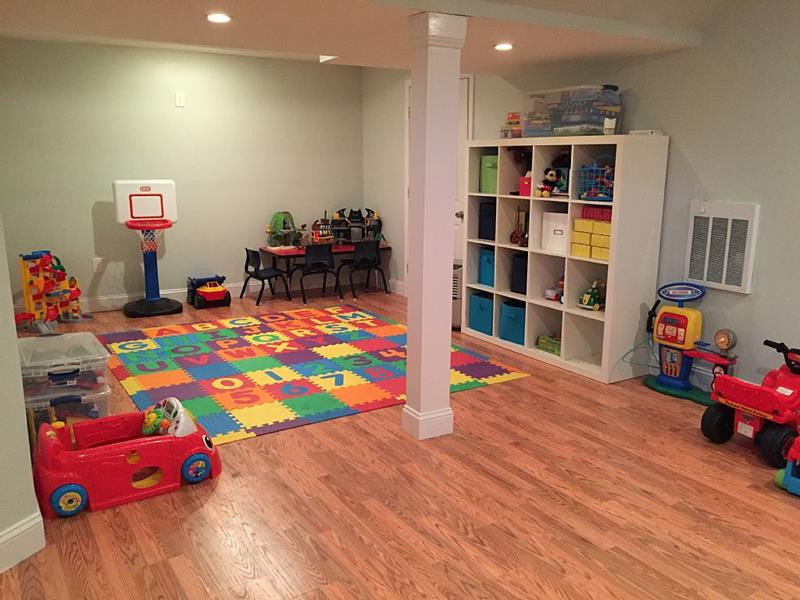 Best ideas about Basement Ideas For Kids . Save or Pin 24 Child Friendly Finished Basement Designs Page 2 of 5 Now.