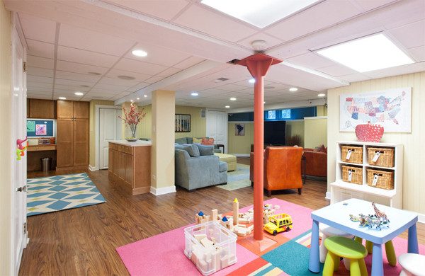 Best ideas about Basement Ideas For Kids . Save or Pin Basement Renovations for Kids Room Ideas Now.