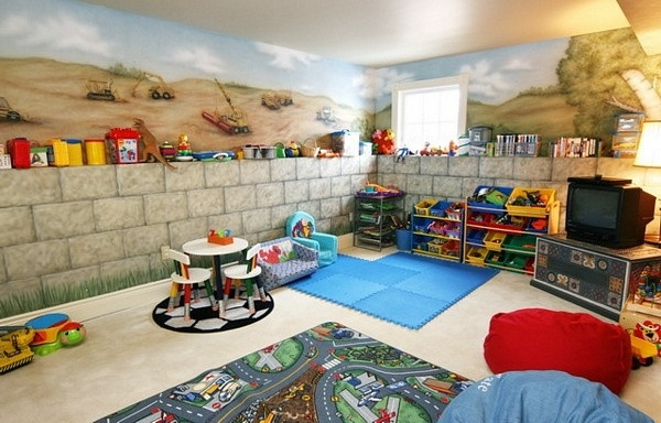 Best ideas about Basement Ideas For Kids . Save or Pin Basement Decorating Ideas with Modern and Rustic Themes Now.