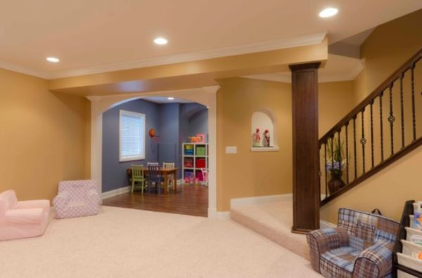Best ideas about Basement Ideas For Kids . Save or Pin Basement Design Ideas For A Child Friendly Place Now.