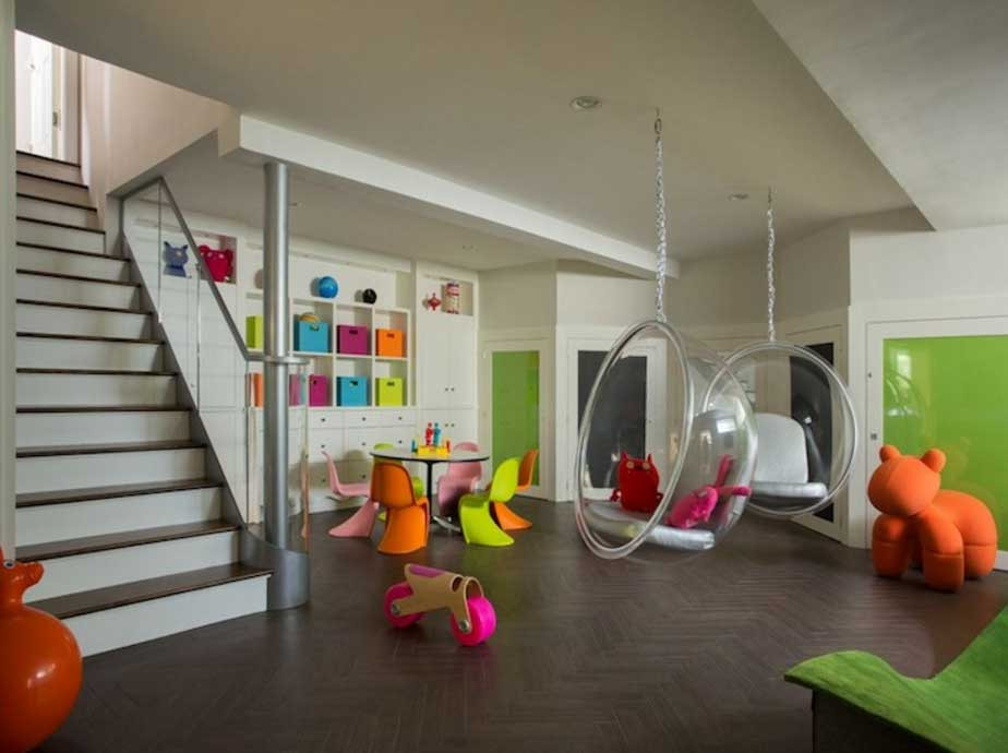 Best ideas about Basement Ideas For Kids . Save or Pin Joyful Basement Playroom Decorating And Design Ideas Turn Now.