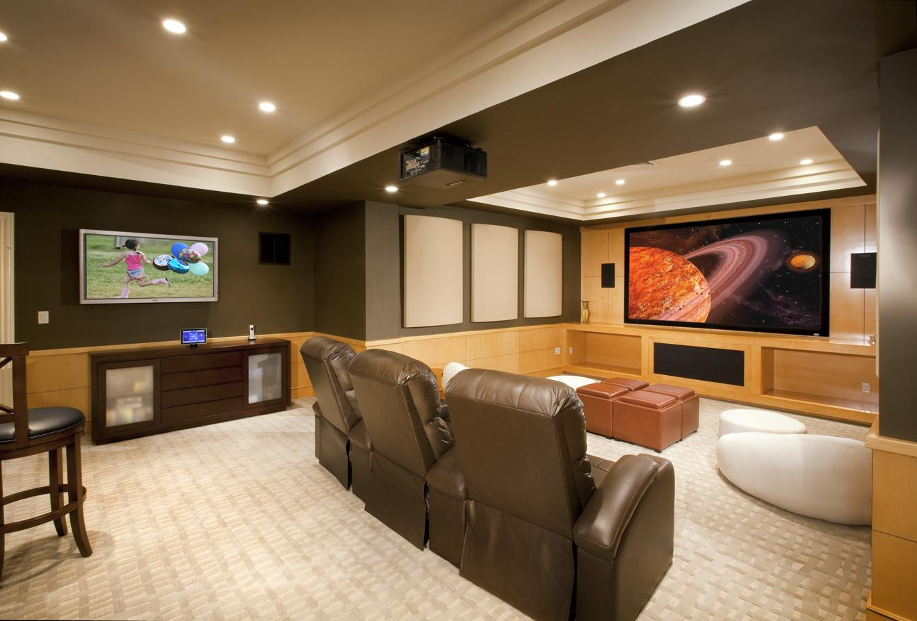 Best ideas about Basement Ideas Photos . Save or Pin 7 Great Uses for Your Finished Basement Lisa Sinopoli Now.