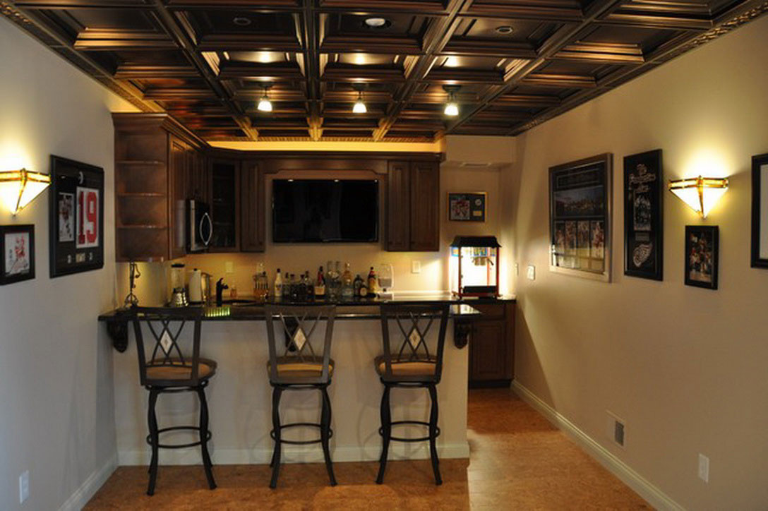 Best ideas about Basement Ideas Photos . Save or Pin Small Basement Ideas Set in Your Home Traba Homes Now.