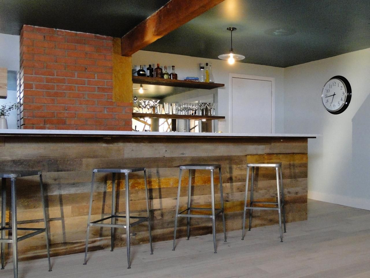 Best ideas about Basement Ideas With Bar . Save or Pin Clever Basement Bar Ideas Making Your Basement Bar Shine Now.
