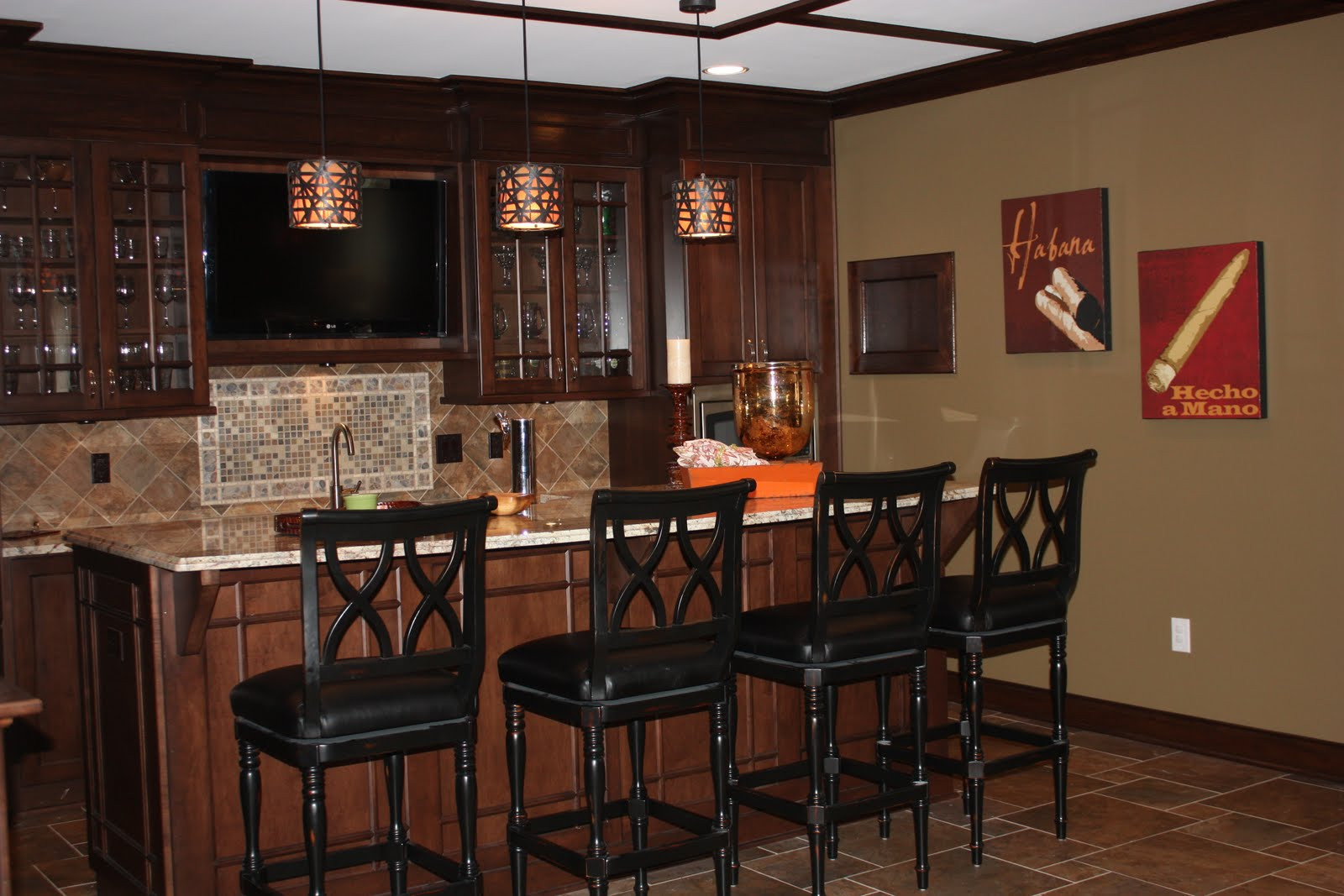 Best ideas about Basement Ideas With Bar . Save or Pin Bar Designs For Basement Ideas Now.