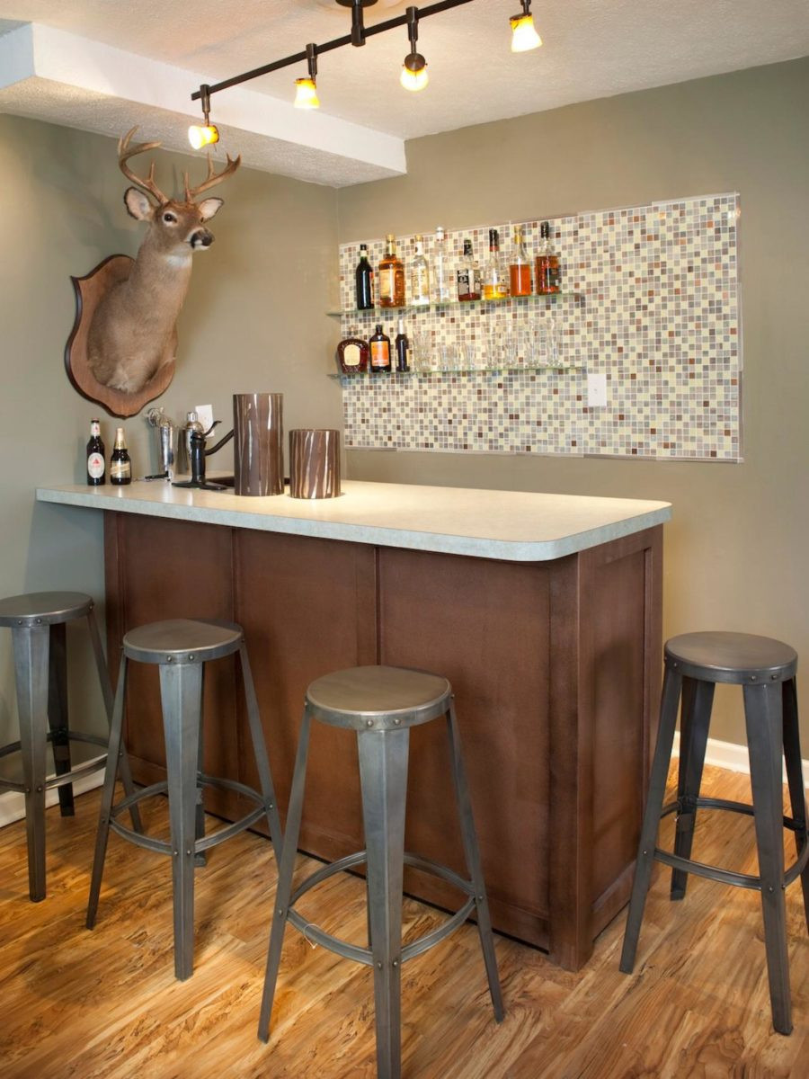 """Best ideas about Basement Ideas With Bar . Save or Pin These 15 Basement Bar Ideas Are Perfect For the """"Man Cave"""" Now."""