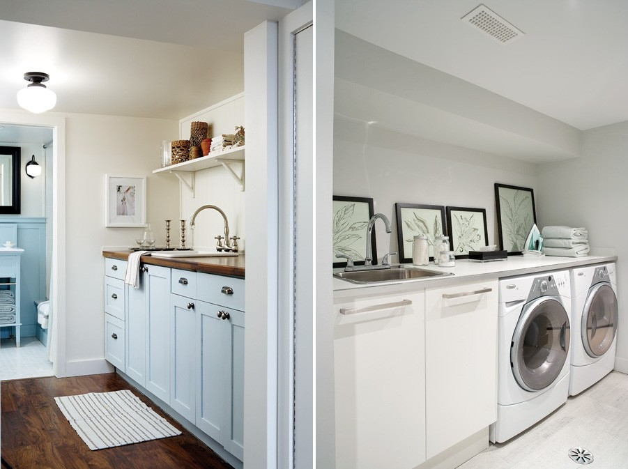 Best ideas about Basement Laundry Room Ideas . Save or Pin 30 Basement Remodeling Ideas & Inspiration Now.