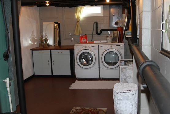 Best ideas about Basement Laundry Room Ideas . Save or Pin Types of Basement Laundry Room Flooring That Is Waterproof Now.