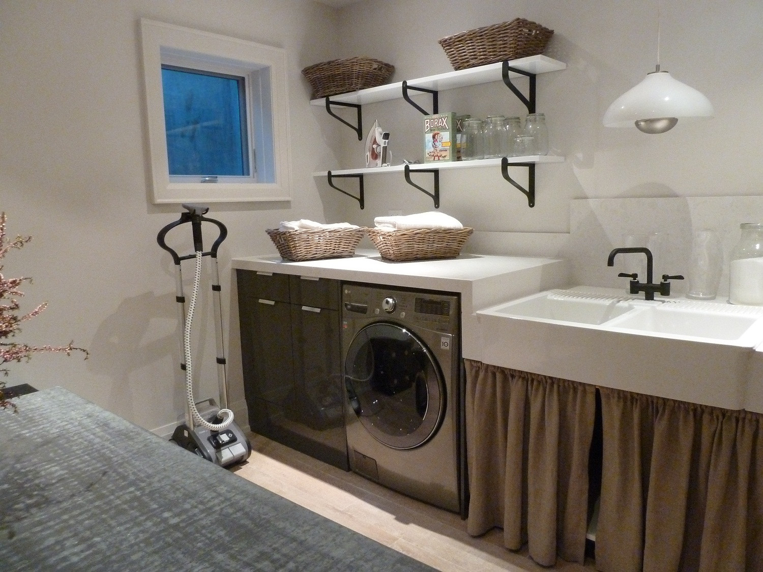 Best ideas about Basement Laundry Room Ideas . Save or Pin 22 Basement Laundry Room Ideas to Try in Your House Now.