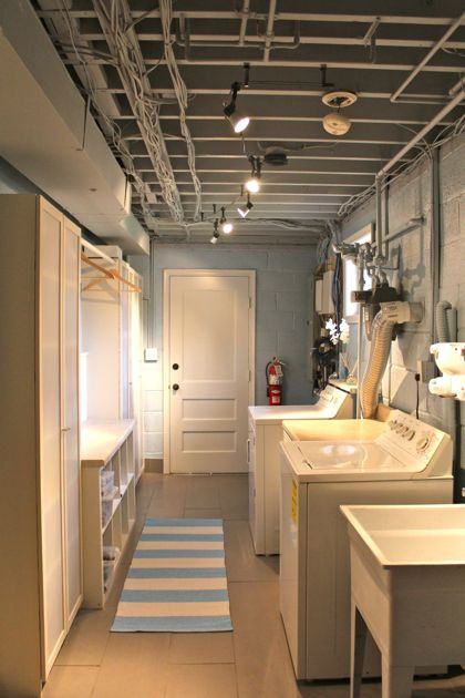 Best ideas about Basement Laundry Room Ideas . Save or Pin Basement Laundry Room Design Remodel and Makeover Ideas Now.