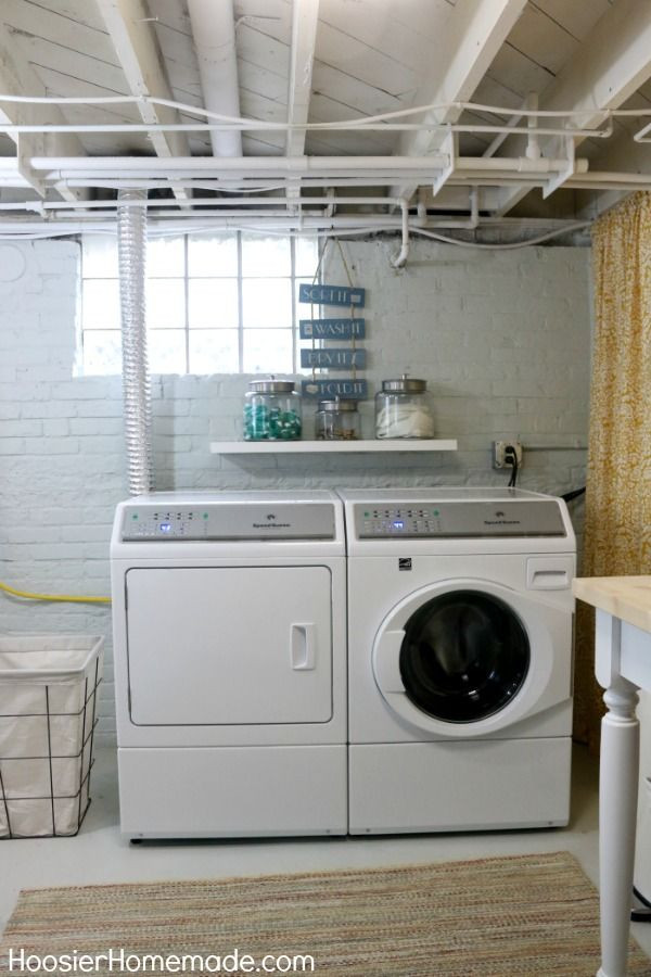 Best ideas about Basement Laundry Room Ideas . Save or Pin e of the best basement laundry room makeovers we have Now.