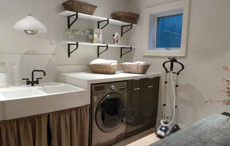 Best ideas about Basement Laundry Room Ideas . Save or Pin Basement Laundry Room Ideas and Storage Solutions Now.