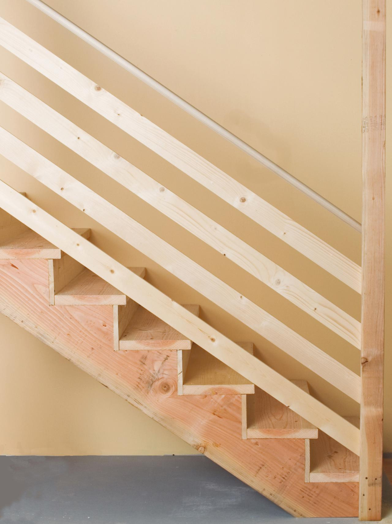 Best ideas about Basement Stair Railing . Save or Pin How Can I Set Up A Removable Stair Railing Home Now.